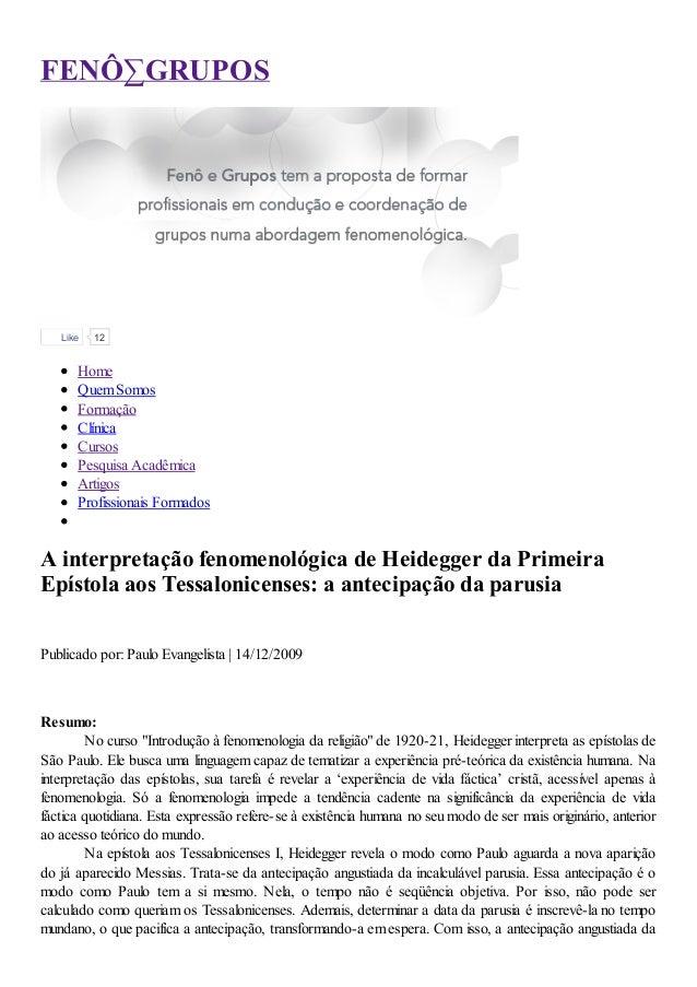 FENÔ∑GRUPOS   Like   12      Home      Quem Somos      Formação      Clínica      Cursos      Pesquisa Acadêmica      Arti...