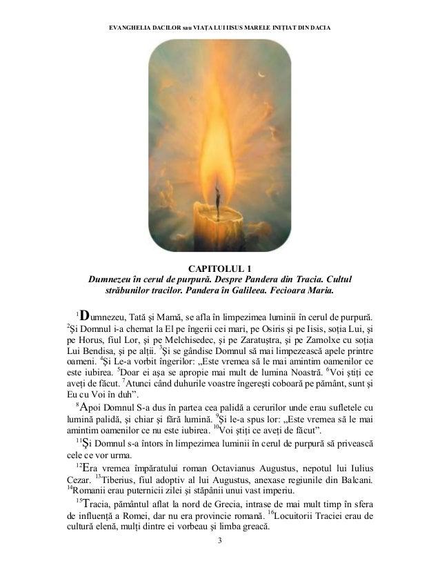 Evanghelia dacilor sau viata lui iisus marele initiat din dacia Slide 3