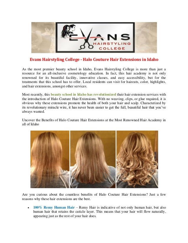 Evans Hair Styling College Hair Extensions Beauty School In Idaho