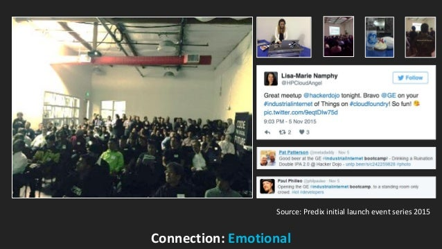 GE Digital Connection: Emotional Source: Predix initial launch event series 2015