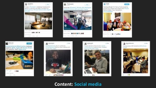GE Digital Content: Social media