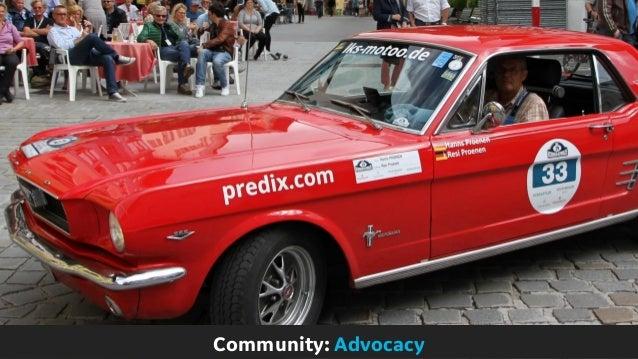 Community: Advocacy