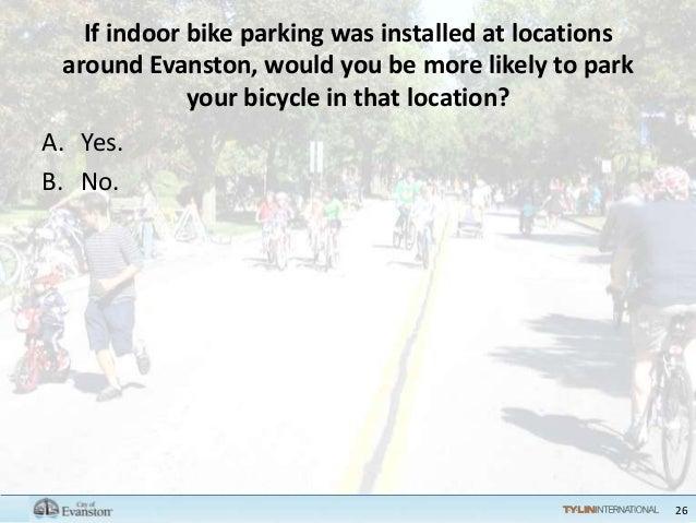 Evanston Bicycle Plan Public Workshop 2