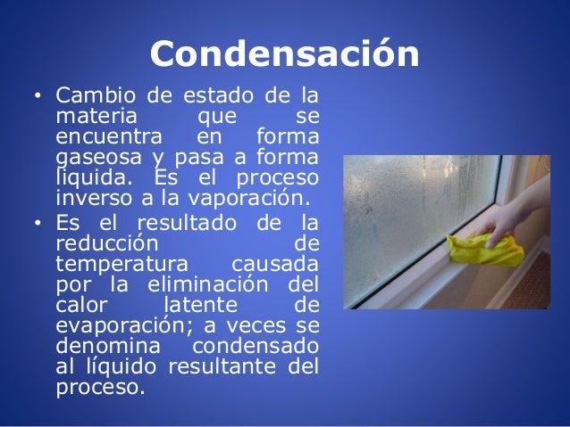 Evaporaci n y condensaci n - Como evitar la condensacion ...