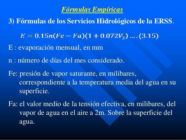 Evaporación y evapotranspiración3