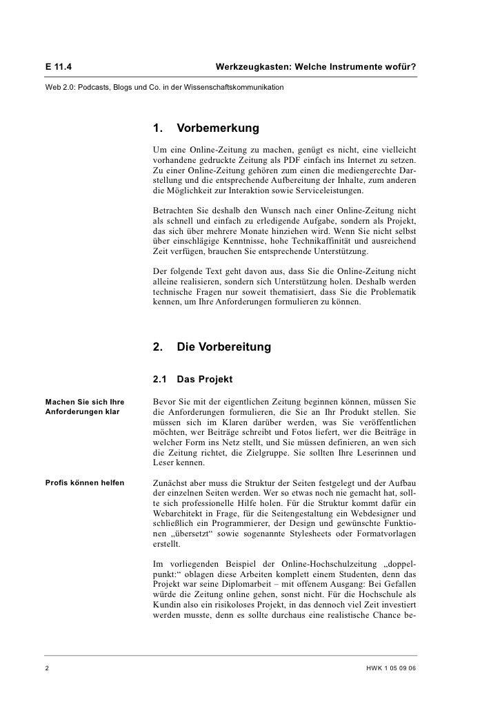 Eva Tritschler: Meine Zeitung geht online