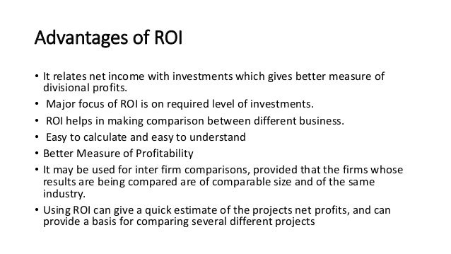 eva vs roi Exercise 254: roi versus eva measuressapsora company uses roi to measure the performance of its operating divisions and to rewarddivision managers a summary of the annual reports from two.