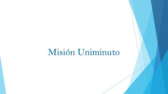 Misión Uniminuto