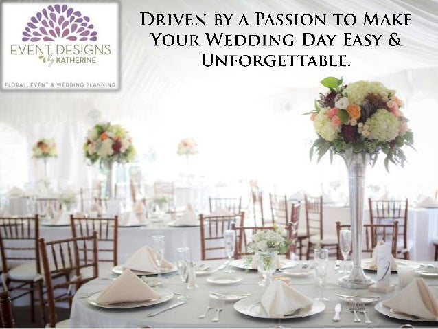 Wedding Event Planning Packages: Event Designs By Katherine Wedding Planning Packages