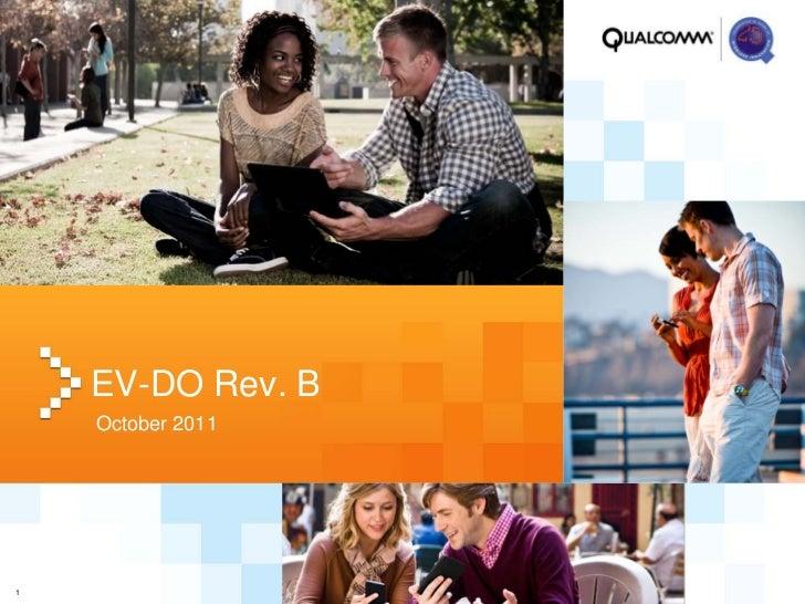 EV-DO Rev. B    October 20111