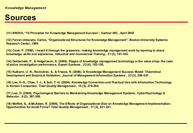 knowledge management case study with questions and answers