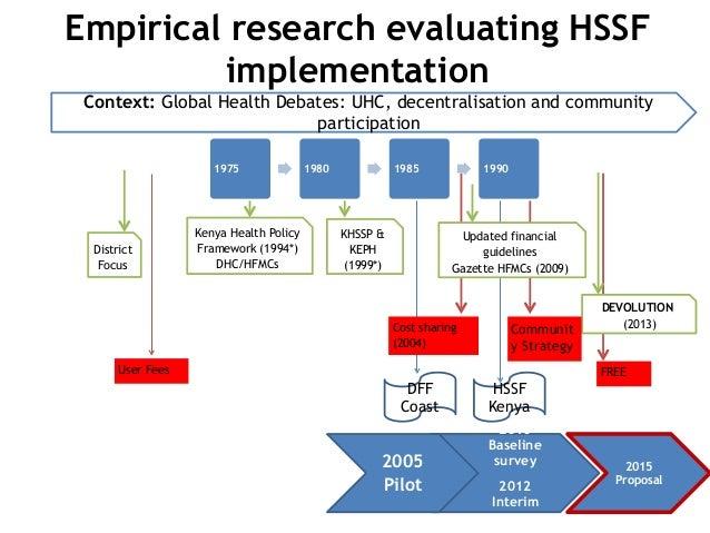 District Focus DEVOLUTION (2013) KHSSP & KEPH (1999*) Updated financial guidelines Gazette HFMCs (2009) Kenya Health Polic...