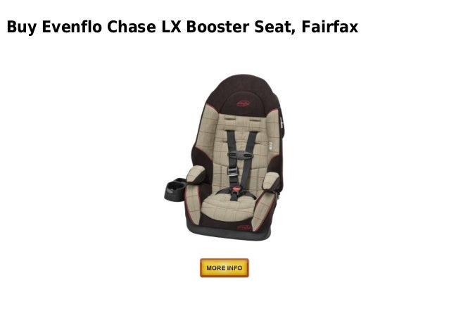 Buy Evenflo Chase LX Booster Seat