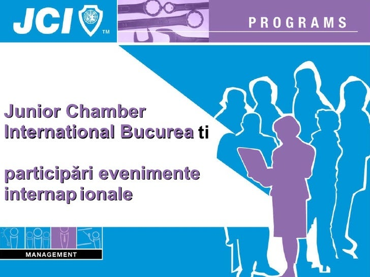 Junior Chamber  International  București   participări evenimente internaționale