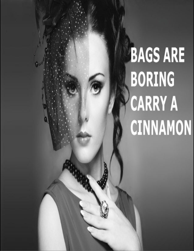 About Cinnamon Evenings  The Cinnamon Brand is a contemporary brand known for creating elegant handbags that transcend the...