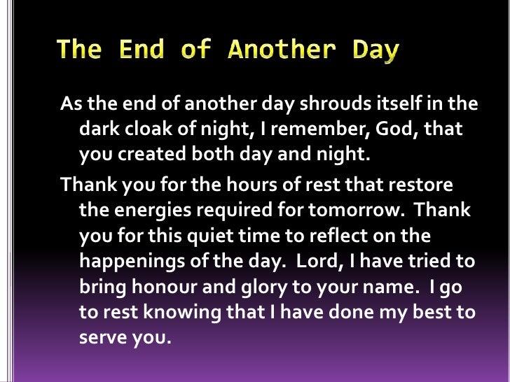 Evening prayers I Am Quiet Quotes