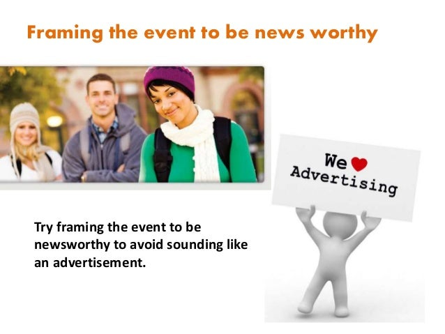 How to promoting events on campus. Slide 3