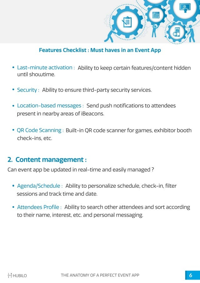 Free e-Book : The Anatomy of a Perfect Event App