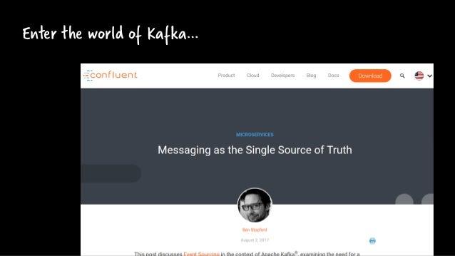 Enter the world of Kafka…
