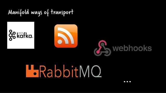 Manifold ways of transport …