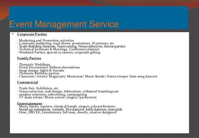 Event Management Company Profile Indicraft Event Amp Promotion