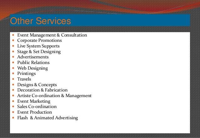 Contoh Company Profile Event Management - Laporan 7