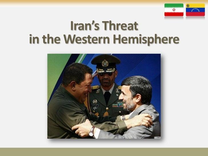 Iran's Threatin the Western Hemisphere
