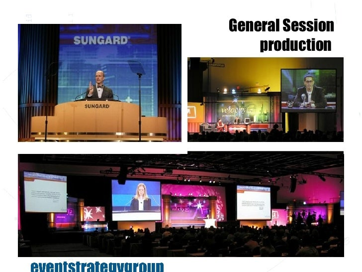 Sungard Exhibition Stand Here : Event strategy group overview