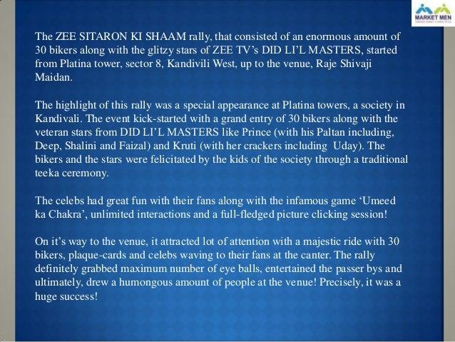 Event zee sitaron ki sham- m umbai- 14th june 2012