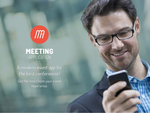 A modern event app for the best conferences! Get the most from your event experience.