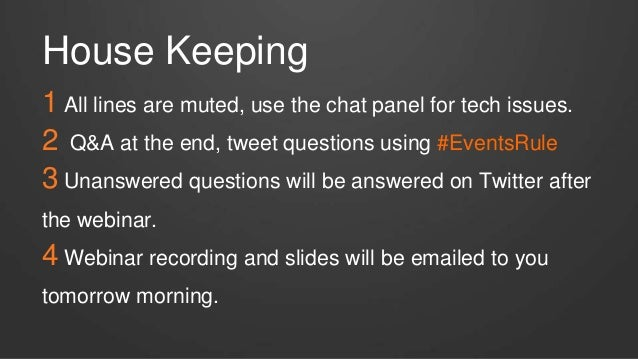 WEBINAR: The New Rules of Event Marketing - Sept 2014 Slide 2