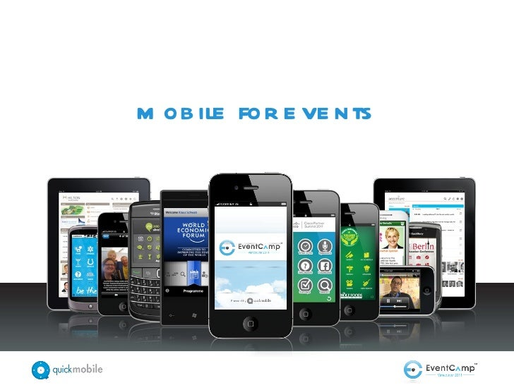 mobile for events
