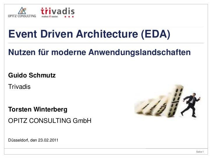 Guido Schmutz<br />Trivadis<br />Torsten Winterberg<br />OPITZ CONSULTING GmbH<br />Nutzen für moderne Anwendungslandschaf...