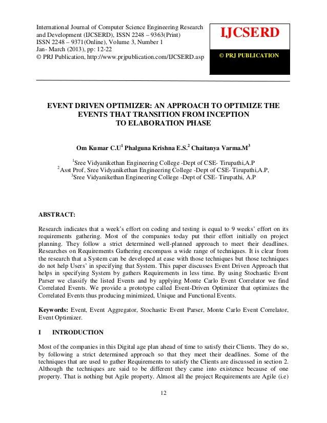 International Journal of Computer science andEngineering Research and Development (IJCSERD), ISSN International Journal of...
