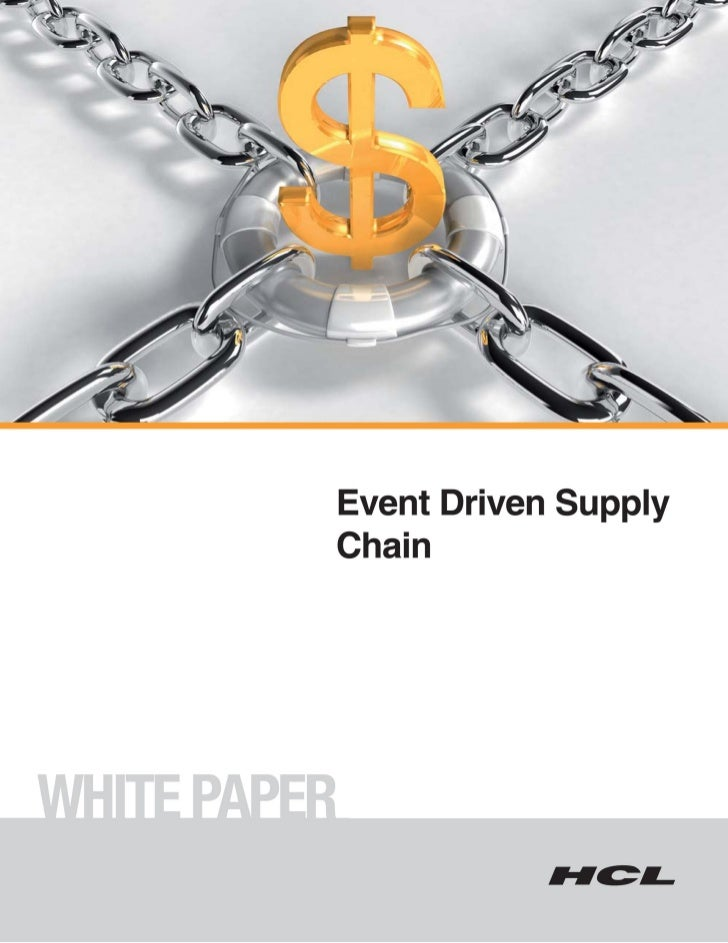Event Driven Supply Chains | September, 2009                                               TABLE OF CONTENTS              ...