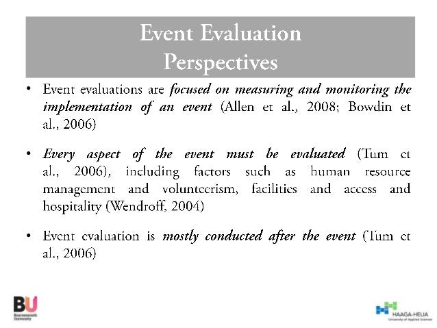 Event Evaluation Guest Lecture