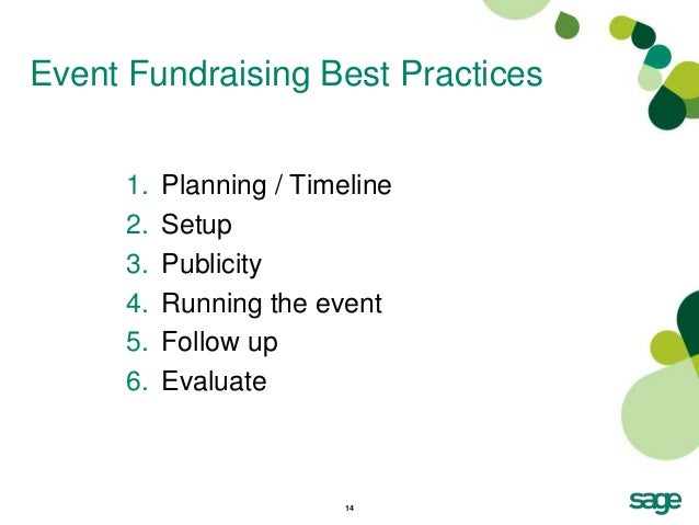 how to plan a fundraiser run