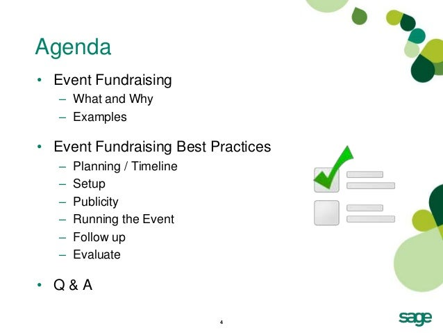 Event Fundraising Best Practices