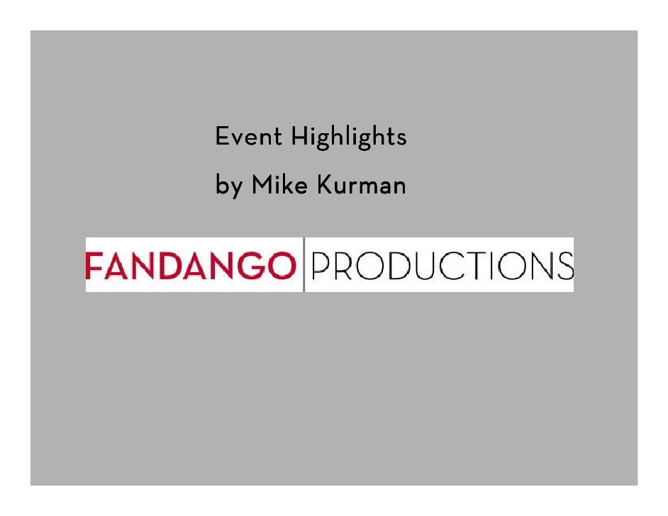 Event Highlights by Mike Kurman