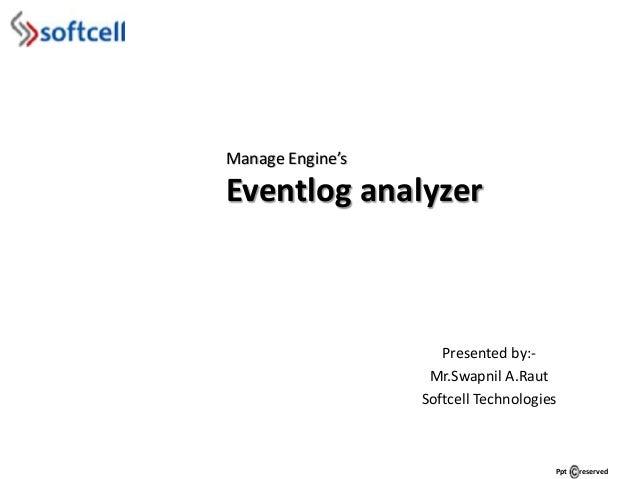 Event log analyzer by me