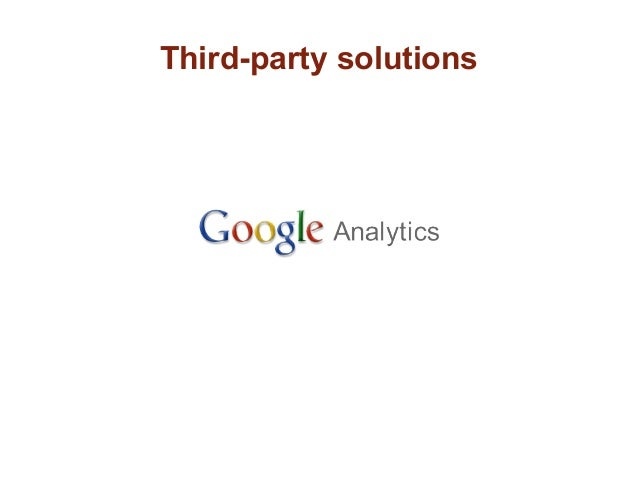 Third-party solutions