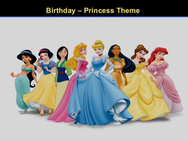 Birthday – Princess Theme