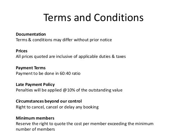 paperless billing terms and conditions These terms and conditions apply to the sites, subject to the conditions stated  below an affiliate is a  online payment terms & conditions.
