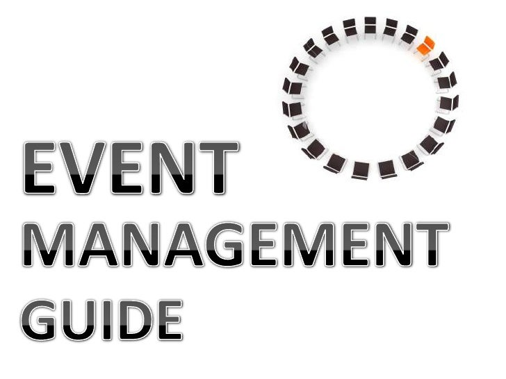 EVENT<br />MANAGEMENT<br />GUIDE<br />