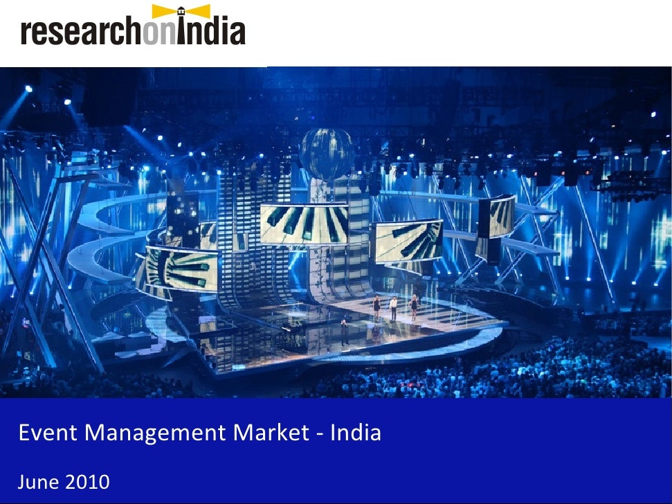 market research report  event management market in india 2010