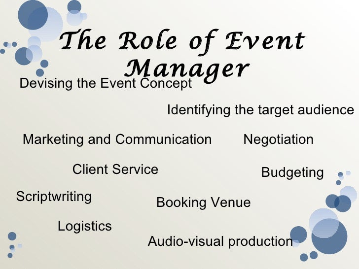 how to get a job in event management company