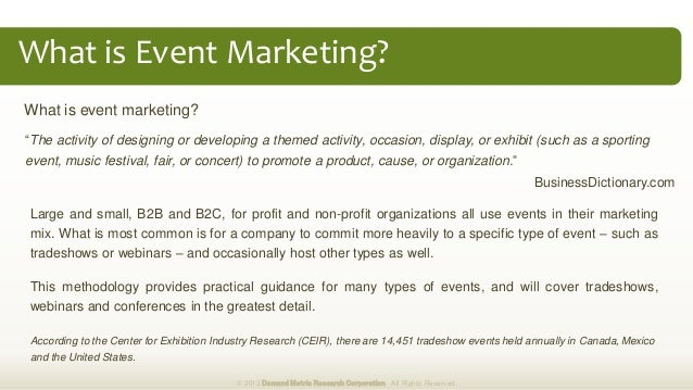 what is event marketing pdf
