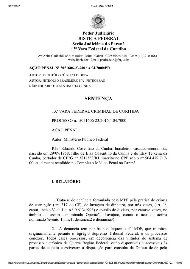 30/03/2017 Evento268SENT1 https://eproc.jfpr.jus.br/eprocV2/controlador.php?acao=acessar_documento_publico&doc=7014908...