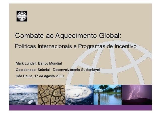 O DESAFIO As emissões antrópicas de gases do efeito estufa (GEE) tem alcançado um nível anual de mais de 42 Bilhões TCO2...
