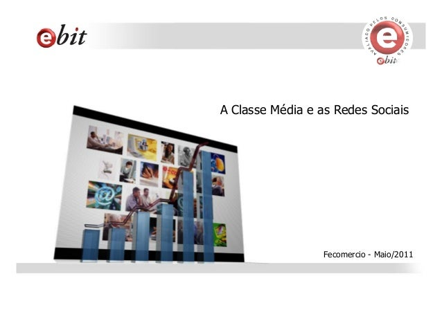 A Classe Média e as Redes Sociais Fecomercio - Maio/2011